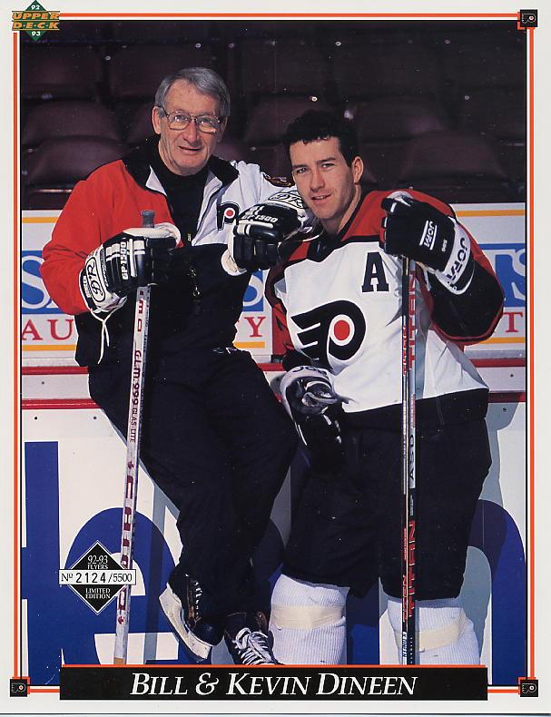 1992-93 Flyers Upper Deck Sheets #20