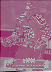 1995-96 Collector's Edge Ice Plate 2