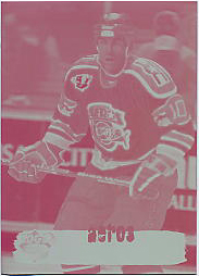 1995-96 Collector's Edge Ice Plate 4