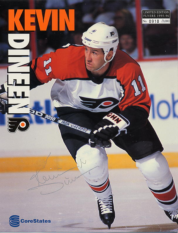 1995-96 Flyers Sheets