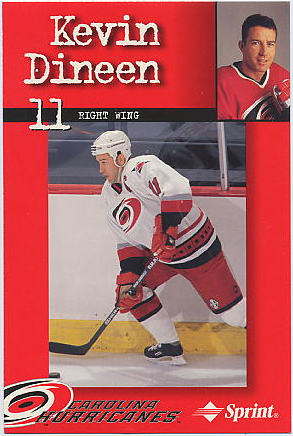 1997-98 Hurricanes Team Issue #6