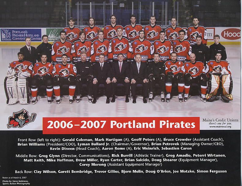 2006-07 Portland Pirates Team Picture