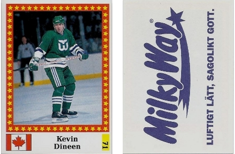 1991-92 Swedish Semic World Championship Stickers #71