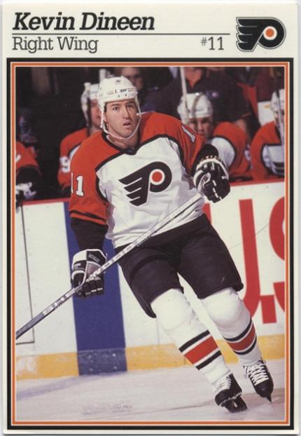 1995-96 Flyers Postcard #NNO